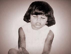 Rani as a child