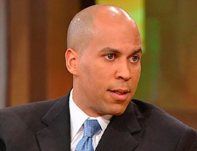 Mayor Cory Booker