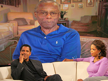 Denzel, Jack Coleman and Oprah
