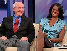 Swin Cash and Bob