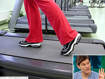 Dr. Oz on exercise