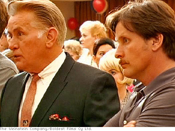 Emilio Estevez directs his dad, Martin Sheen