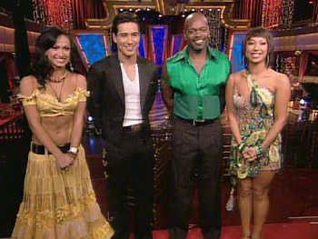 Karina Smirnoff, Mario Lopez, Emmitt Smith and Cheryl Burke