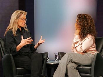 Annie Leibovitz and Oprah