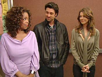 Oprah, Patrick Dempsey and Ellen Pompeo