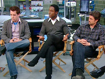 T.R. Knight, Isaiah Washington and Patrick Dempsey