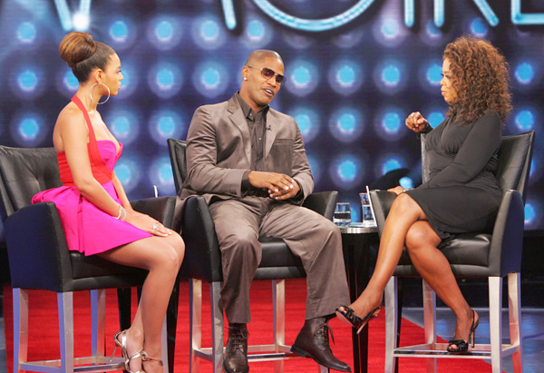Beyoncé, Jamie Foxx and Oprah