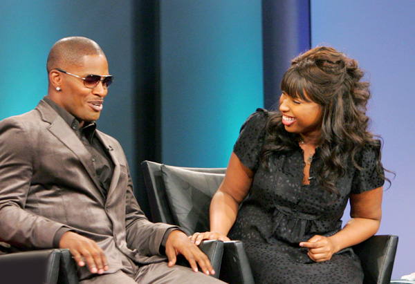 Jennifer Hudson and Jamie Foxx