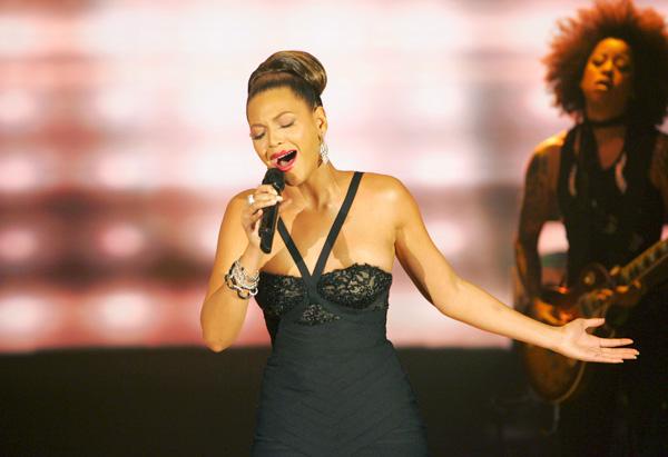 Beyoncé sings 'Listen'