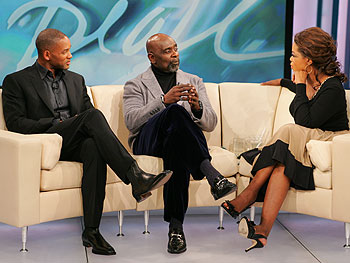 Will Smith, Chris Gardner and Oprah