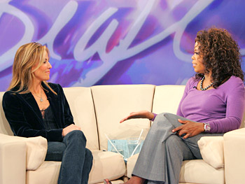 Sheryl Crow and Oprah