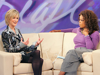 Dana Buchman and Oprah