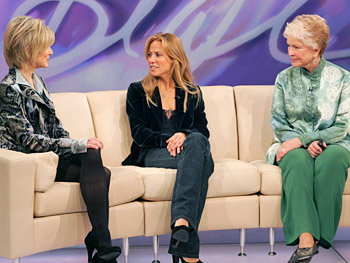 Dana Buchman, Sheryl Crow and Ellen Burstyn