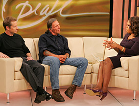 Wayne Powers, Ted Rodrigue and Oprah