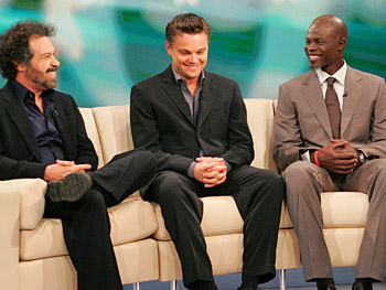 Director Ed Zwick says the dedication of Leonardo DiCaprio and Djimon Hounsou was the reason he was able to make the movie 'Blood Diamond.'