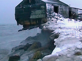 Global warming has damaged Shishmaref, Alaska, as seen in 'Everything's Cool.'