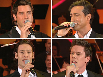Il Divo performs 'Somewhere,' a song they sang with Barbra Streisand on tour.