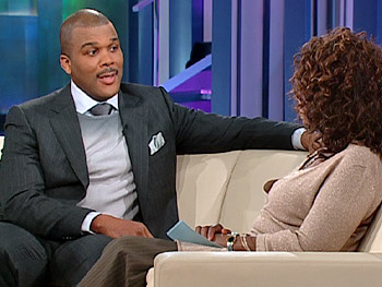 Tyler Perry channeled his pain through his writing.
