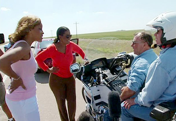 Oprah, Gayle and their new 'biker buddies'