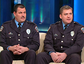 Police Officers Gary Wagster and Chris Nelson