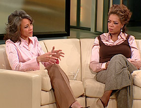Dr. Robin Smith and Oprah