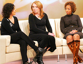 Julie, DeChane and Amy talk about marriage.