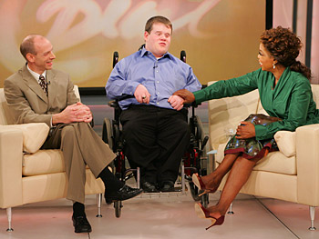 Patrick and Patrick talk to Oprah.