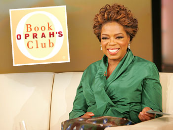 Oprah announces a new book club selection.