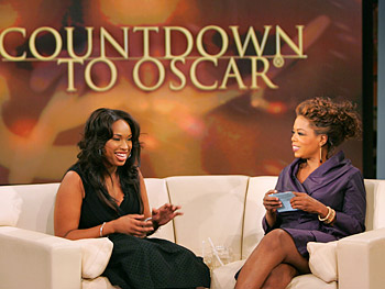 Jennifer Hudson and Oprah