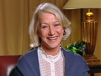 Helen Mirren talks about her performance in 'The Queen.'