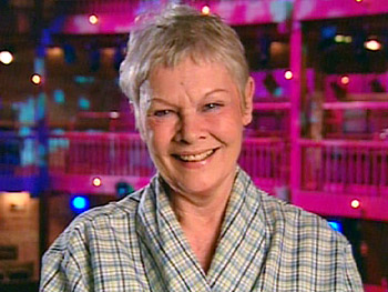 Dame Judi Dench talks about her treacherous new role.
