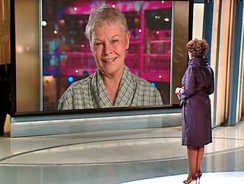 Dame Judi Dench on missing the awards ceremony