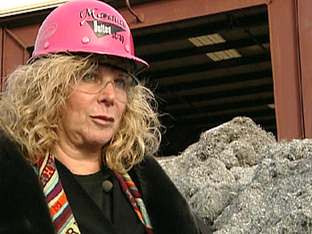 Marsha decides to start collecting scrap metal.