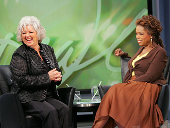 Paula Deen tells Oprah how she created a culinary empire.