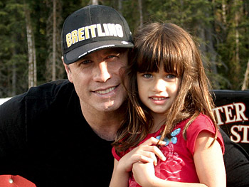 John Travolta and his daughter, Ella Bleu