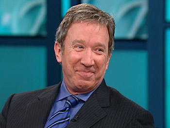 Tim Allen discusses his new role as a husband.