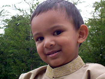 Mikhail, the youngest member of Mensa