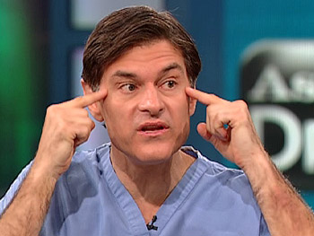 Dr. Oz explains how Botox smoothes out wrinkles.