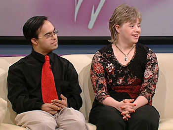 Carrie and Sujeet, a couple with Down syndrome, share their love story.