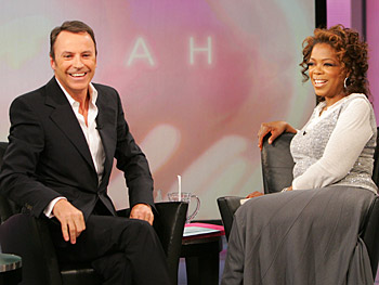 Colin Cowie and Oprah