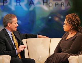 Ed Smart tells Oprah how Elizabeth is doing.