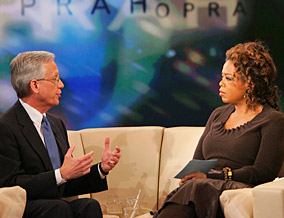 Ernie Allen and Oprah discuss changing laws.