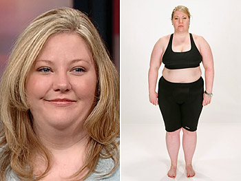 Tracy says she's tired of being overweight.