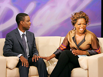 Chris Rock and Oprah talk about current events.