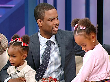 Chris discusses why he loves being a father to Lola and Zahra.