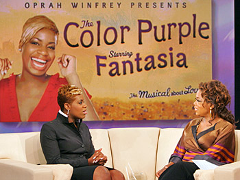 Fantasia says she relates to her character in 'The Color Purple.'