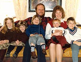 Isaiah Kacyvenski's family