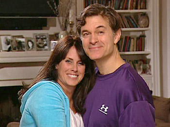 Lisa and Dr. Oz