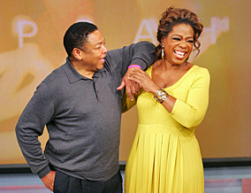 Oprah challenges Reggie to stop complaining