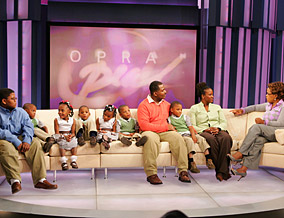 Dewayne, Chris, Diamond and the sextuplets